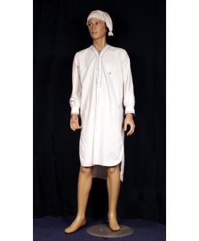 chemise de nuit homme 1900 la malle aux costumes. Black Bedroom Furniture Sets. Home Design Ideas