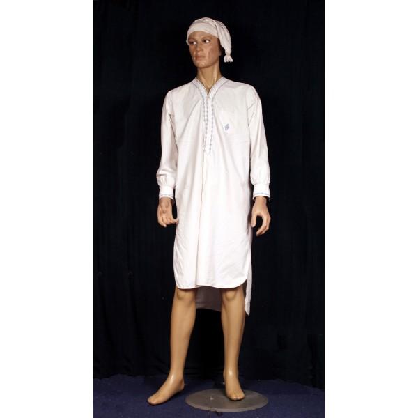 Chemise de nuit homme 1900 la malle aux costumes for Sabine melchior bonnet histoire du miroir