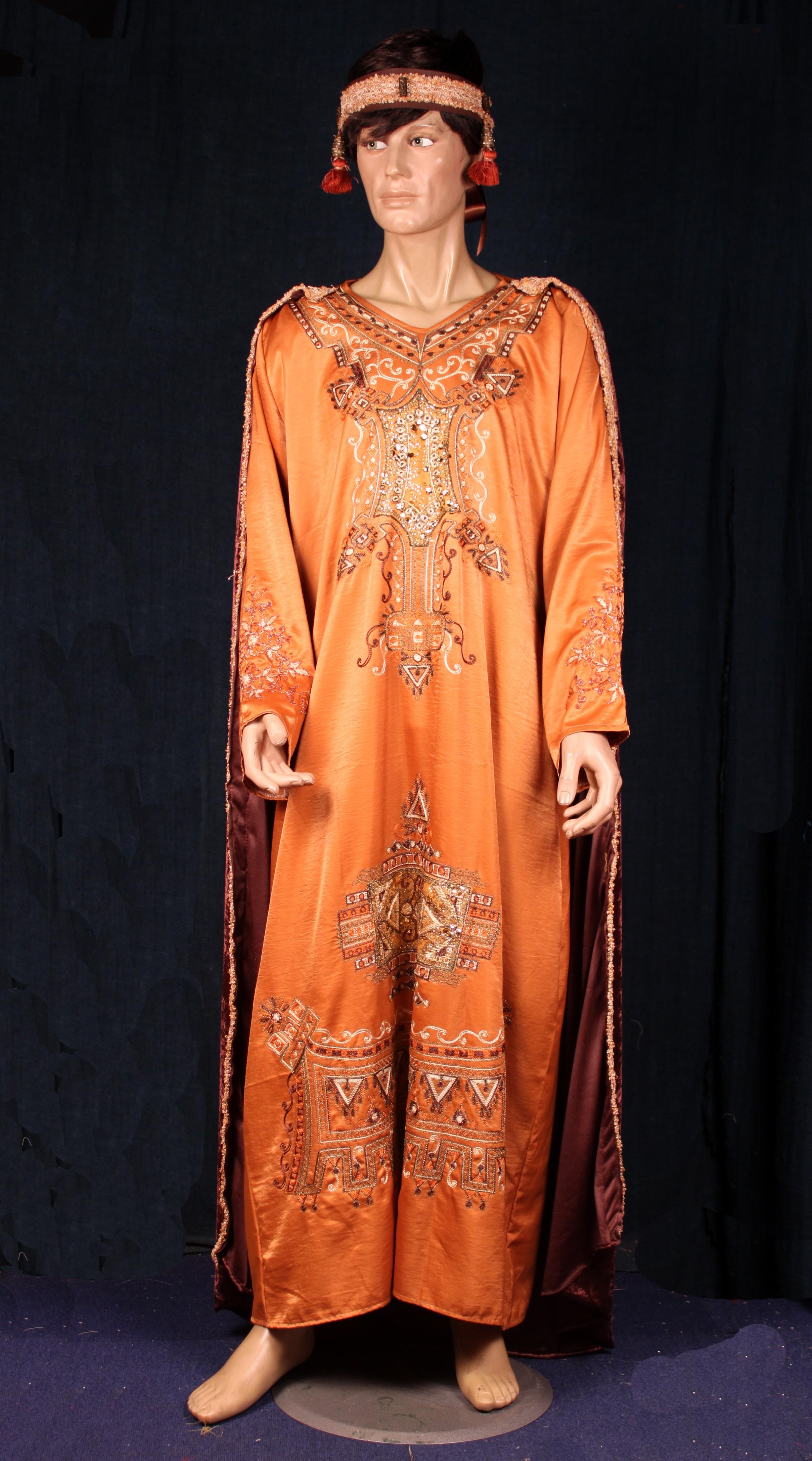 Perse homme caramel marron 1 - La Malle Aux Costumes 60871d79580